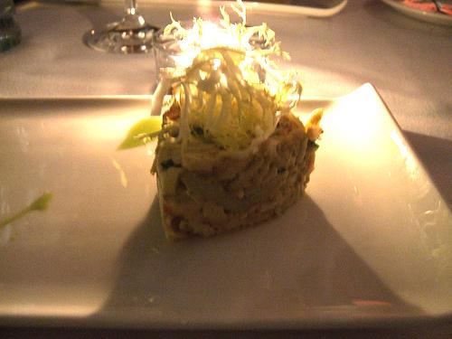 Restaurant L (Boston) - Alaskan King Crab w/ Caramelized Avocado, Fish Roe, & Chili