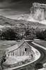 Fruita (Bodie Bailey) Tags: bw barn landscape utah capitolreef tmax400 fruita canonftb highway12 bachspicsgallery