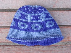 Not your grandma's double-knit hat