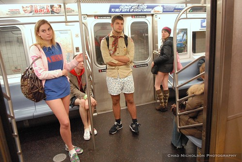 No Pants! Subway Ride