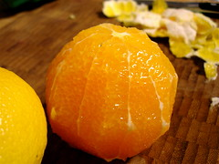 Orange, Peeled