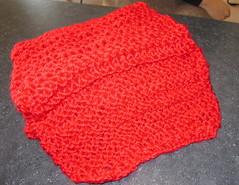 Mari's scarf