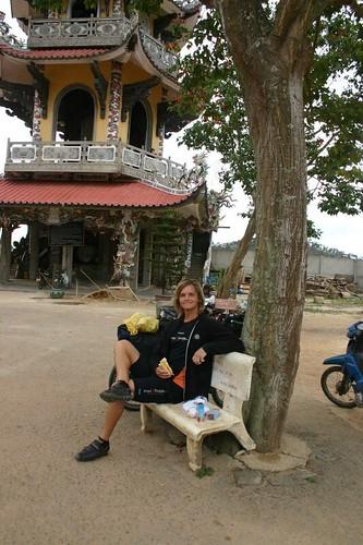 Linh Phuoc Pagoda, Trai Mat Village.