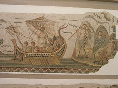 odysseus and the sirens (mosaic) (elmina) Tags: tunisia homer sirens odysseus bardomuseum
