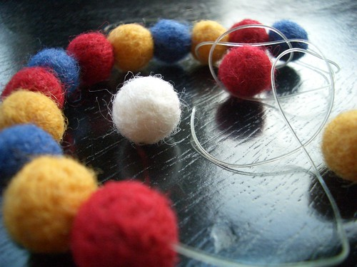 #19 - felted beads