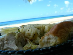 Beachside lunching in Barbados 3