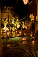 Al-Yacout Restaurant (malyousif) Tags: house night restaurant courtyard morocco marrakech marrakesh moroccan yacout alyacout