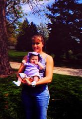 lauren with baby Annika