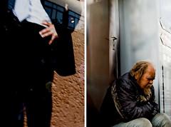 Back Door (p.heller) Tags: poverty street portrait man germany e1