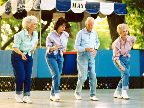 Seniors Dancing, Mayfest