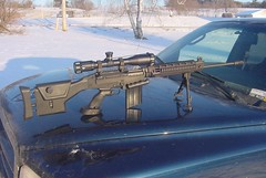 L1A1 7.62MM SNIPER RIFLE (weaponeer) Tags: rifle assault l1a1