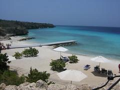 Curacao - Porto Marie Beach (Ralph Bos) Tags: ocean blue beach island curacao tropic caribbean antilles