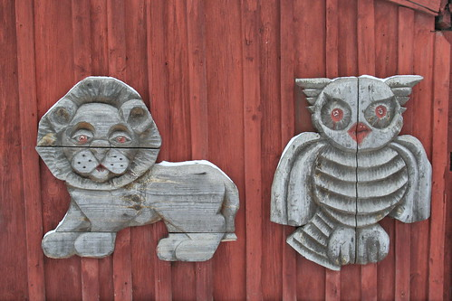 Ленина, 79: лев и сова / Lenina, 79: lion & owl