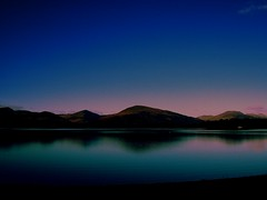 At the crack of dawn (Nicolas Valentin) Tags: blue reflection water scotland bravo nightshot quality bleu lochlomond abigfave