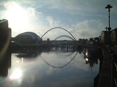 Sage Gateshead & the Tyne Bridges