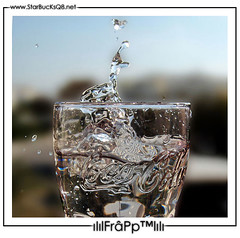 ReFresh yOur Life ~ (Essa Al-Sheikh - @Bo3awas) Tags: city pink sky home water glass drops cola kuwait q8 frapp kuw