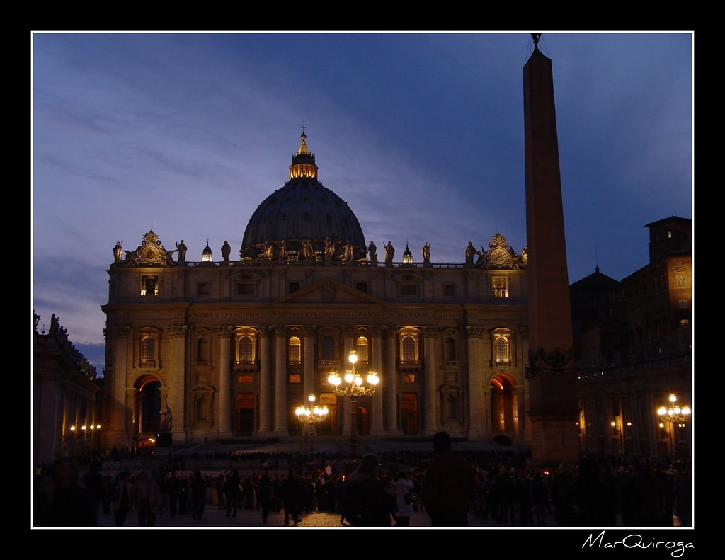 Plaza San Pedro, Vaticano