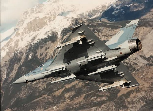 Un Mirage 2000 s'abime en mer