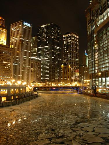 Chicago nocturno.