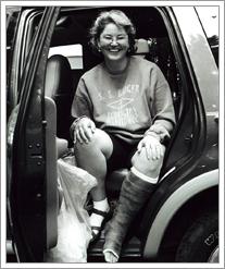 Kathy-Broken-Leg