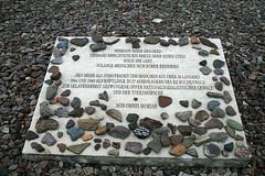 women camp memorial stone