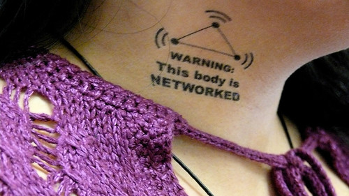 This body is networked by danceinthesky, on Flickr
