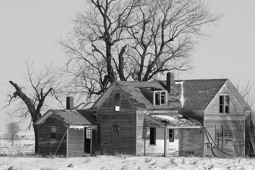 Abandoned Iowa Farmhouse
