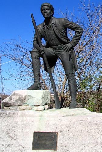 Timothy Demonbreun Statue - 1st Ave. Nashville