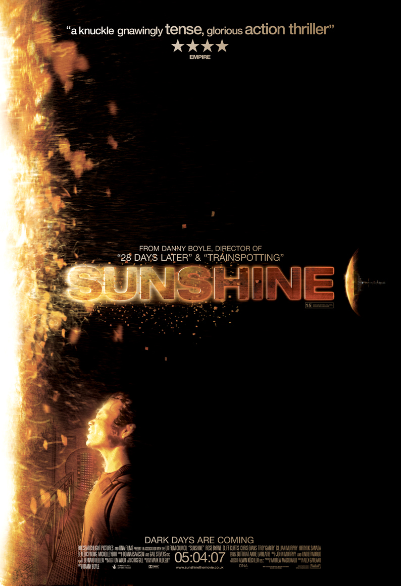 Sunshine - Not a critically acclaimed film by any means but I love the sense of heat and solitude that this poster provides.