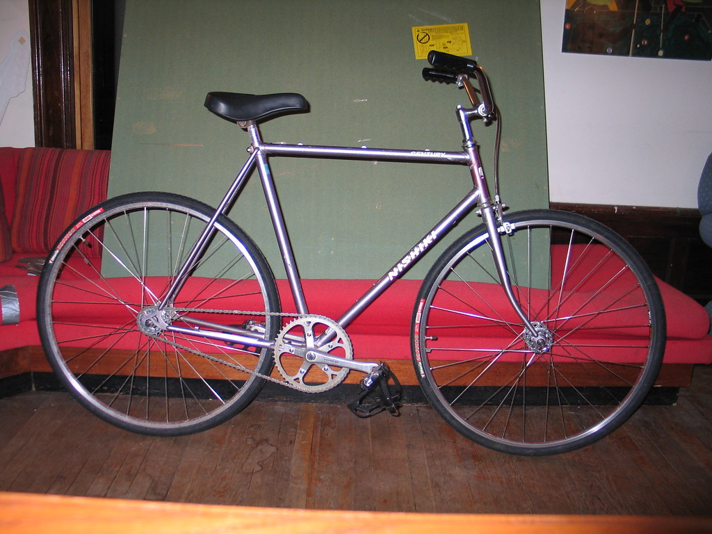 My First Fixed Gear Bike