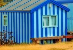 Hideaway home! (suedot) Tags: blue colour beach photoshop d50 colours stripes nikond50 outstandingshots abigfave goldenphotographer wowiekazowie suedot diamondclassphotographer flickrdiamond peeeweonblue