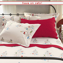 stuff i want: christmas percale