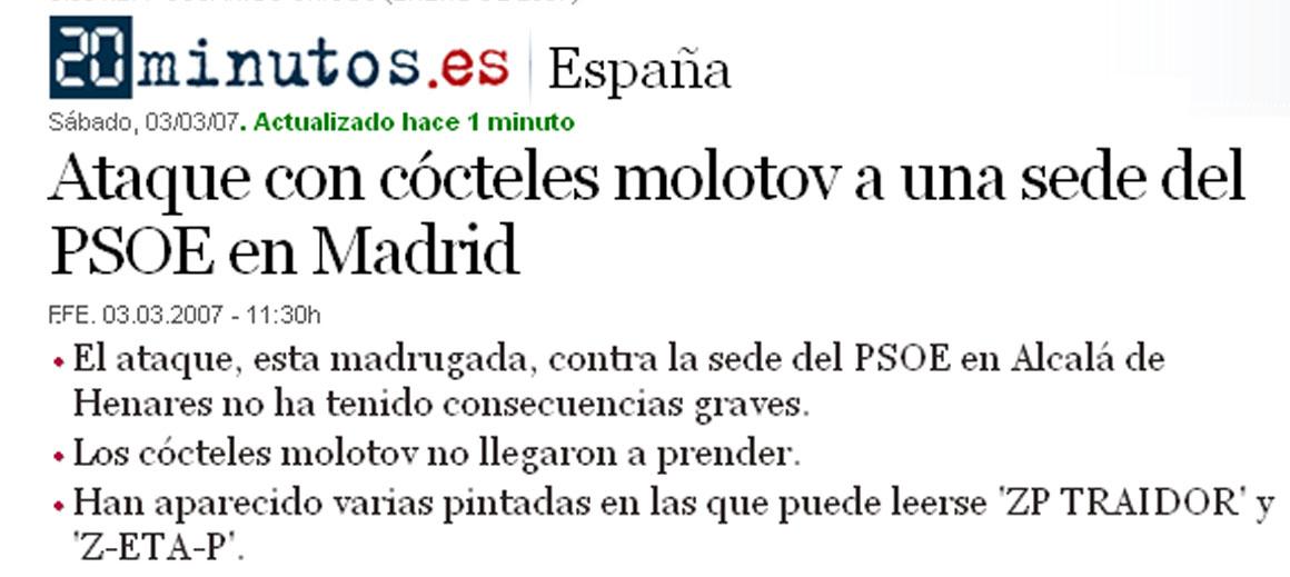 Ataque Alcalá