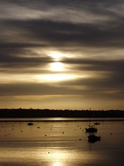 'Obscured by clouds' (ExeDave) Tags: england sunrise estuary explore devon exmouth exe starcross eastdevon specnature exeestuary teignbridge superaplus aplusphoto