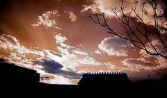 adios ETSAM (Corto Maltes) Tags: madrid light shadow espaa cloud sun luz sol architecture night clouds dark de noche spain arquitectura day dusk sombra dia nubes infrared nublado crepusculo puesta infrarrojo nuboso infrarrojos nuebe