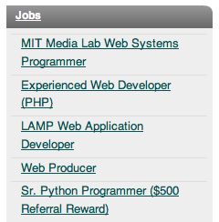 Slashdot Jobs Post