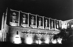s galgano by night (macchianera) Tags: pentax k1000 toscana abbazia