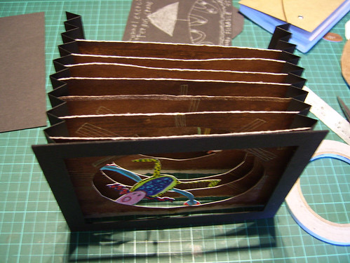 tunnel book construction