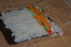 Sushi ingredients