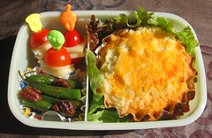 Shepherd's pie lunch for toddler お弁当