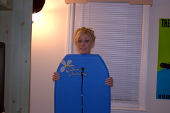 Wave Goddess (zacharmstrong) Tags: blue board goddess wave blonde