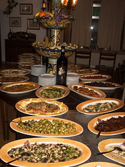 AntiPasta Table (david.nikonvscanon) Tags: world camera original food fish digital photoshop canon mushrooms photography photo search saturated photographer image postcard creative commons icon images anchovies photograph luck lucky pixel creativecommons saturation olives s40 surprise dp sicily tomatos digitalphoto find antipasta chromatic digitalimage cefalu theworld digitalphotograph oneworld aberation nikonvscanon viewtheworld davidnikonvscanon