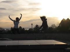 Jump Volunteer Park!