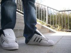 get adidas superstar no laces a065d d4a12