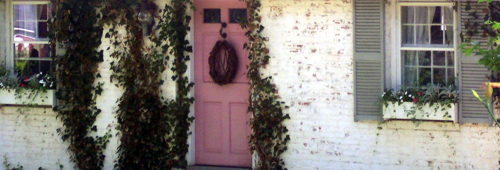 rose cottage doorway
