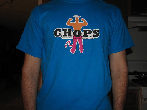 Donnie Davies C.H.O.P.S. t-shirt