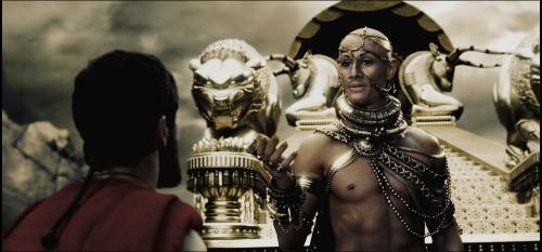 300 - Leonidus faces Xerxes