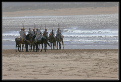 Guerreros en la playa - Warriors on the beach (jose_miguel) Tags: sea espaa horse beach miguel caballo mar spain bravo searchthebest o quality jose playa morocco maroc warrior marruecos soe essaouira bam guerrero interestingness3 splendiferous magicdonkey explore3 flickrsbest abigfave panasoniclumixfz50 shieldofexcellence anawesomeshot 200750plusfaves superbmasterpiece travelerphotos goldenphotographer magicdonkeysbest