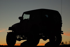 It's A Jeep Thing (JHamel) Tags: sunset arizona butte jeep thumb prescott wrangler