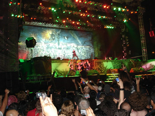 Iron Maiden at the Dubai Desert Rock Festival 2007